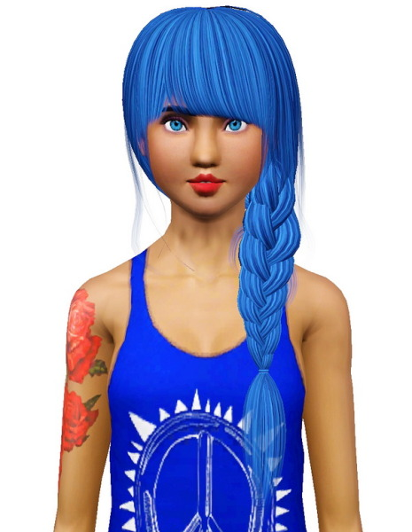 Raon 10 hairstyle retextured by Pocket for Sims 3