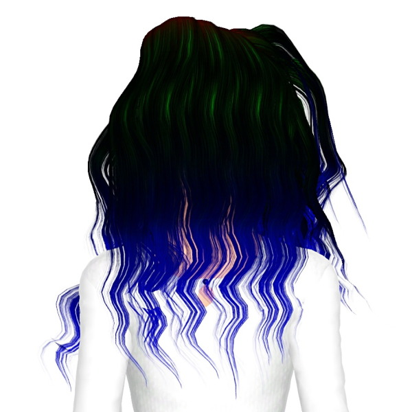 Momo`s Venus hairstyle retextured by July Kapo for Sims 3