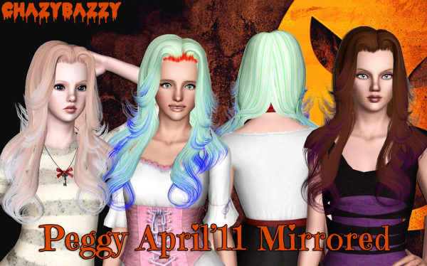 Peggy '11 and Bombsy's Mirrored version by Chazy Bazzy for Sims 3