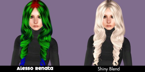 Alesso`s hairstyle retextured by Plumb Bombs for Sims 3