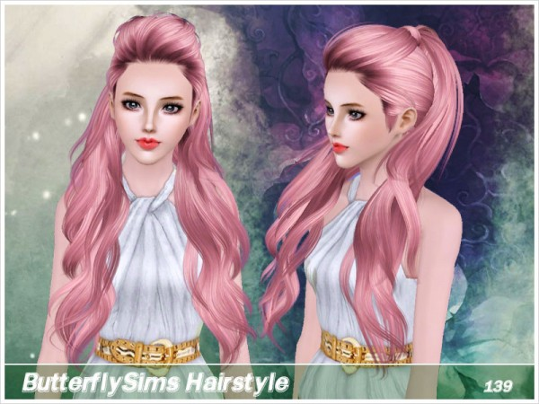 Hairstyle 139 by Butterfly Sims for Sims 3