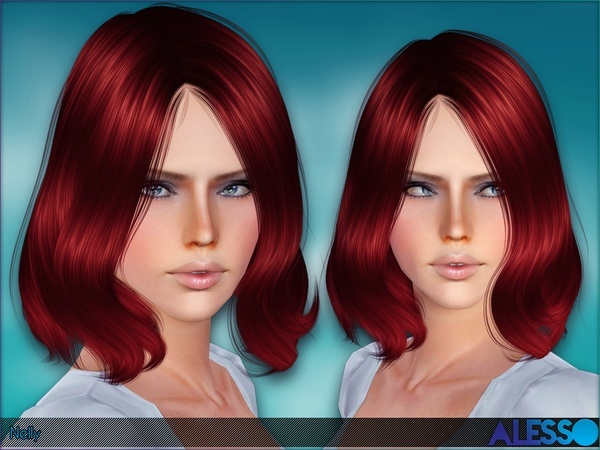 Nelly Hairstyle by Alesso by The Sims Resource for Sims 3