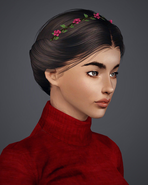 Alesso`s Paula + Kiki Hairstyle retextured by Royal for Sims 3