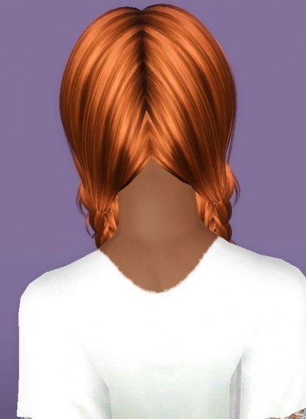 Buterflysims 134 hairstyle retextured by Forever And Always for Sims 3