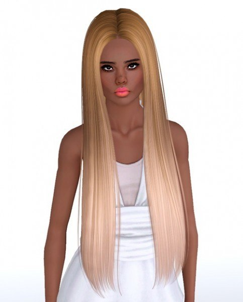Butterflysims 140 hairstyle retextured by Monolith Sims for Sims 3