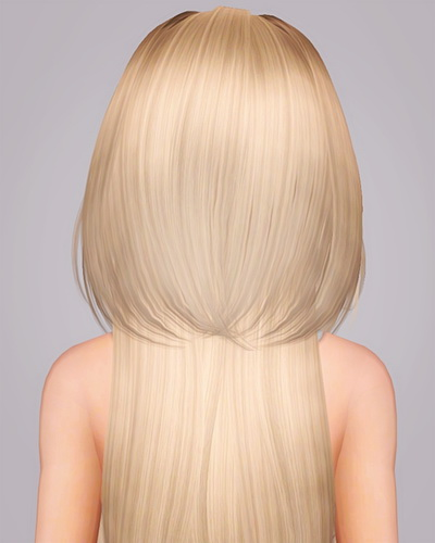 Skysims 240 hairstyle retextured by Liahx`s downolads for Sims 3