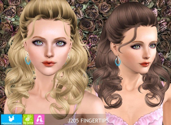 J205 Fingertips hairstyle by NewSea for Sims 3