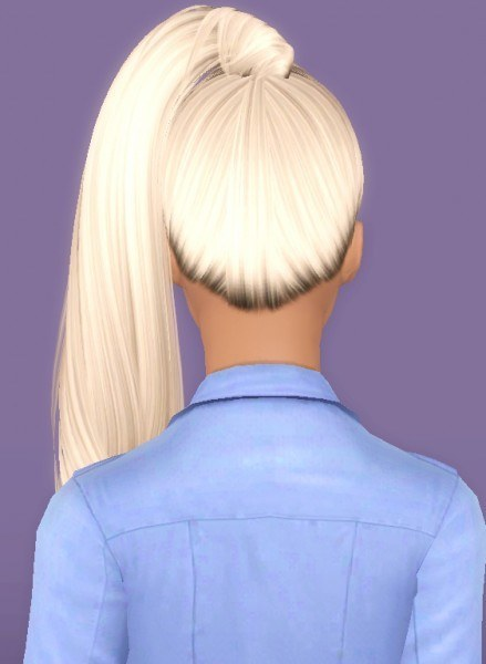 Alesso`s Galaxy hairstyle retextured by Forever And Always for Sims 3