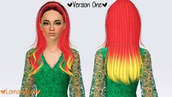 Skysims 010 hairstyle by Lemonkixxy`s Lair for Sims 3
