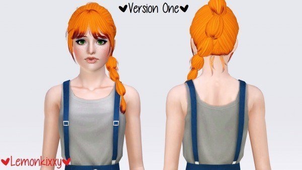Newsea`s J 206 Carrousel hairstyle by Lemonkixxy`s Lair for Sims 3