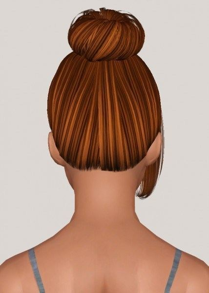 Butterflysims 137 hairstyle retextured by Someone take photoshop away from me for Sims 3