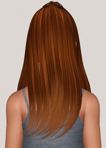 Butterflysims 135 hairstyle retextured by Someone take photoshop away from me for Sims 3