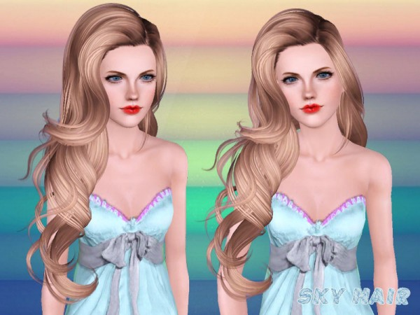 Hairstyle 246 set by Skysims by The Sims Resource for Sims 3