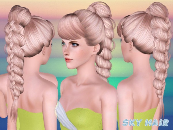 Hairstyle 247 by Skysims by The Sims Resource for Sims 3
