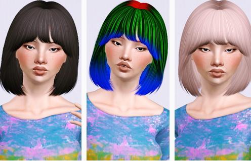 Nightcrawler 27 hairstyle retextured by Beaverhausen for Sims 3