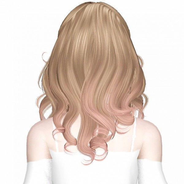 Newsea`s Fingertips hairstyle retextured by July Kapo for Sims 3