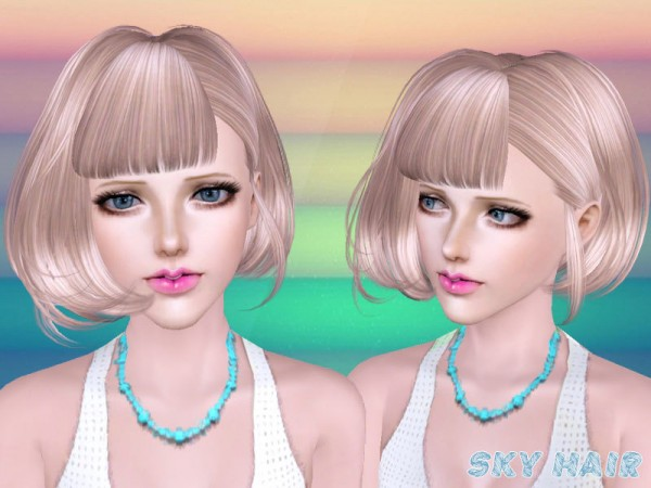 Hairstyle 249 set by Skysims by The Sims Resource for Sims 3