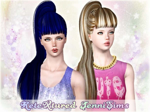 Butterflysims Hairstyle 138 retextured by Jenni Sims for Sims 3