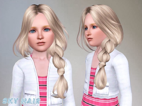 Hairstyle 250 by Skysims by The Sims Resource for Sims 3