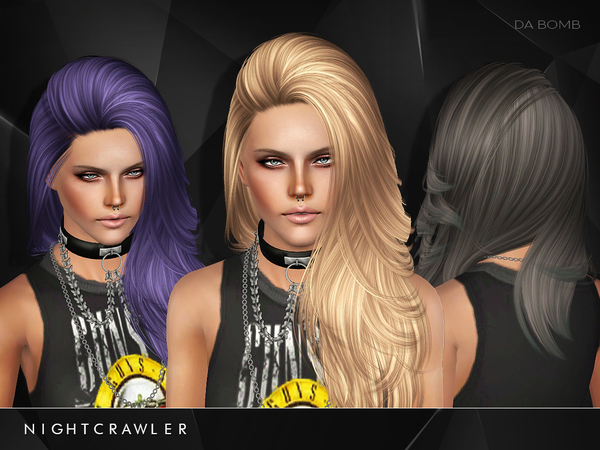 Da Bomb hairstyle by Nightcrawler by The Sims Resource for Sims 3