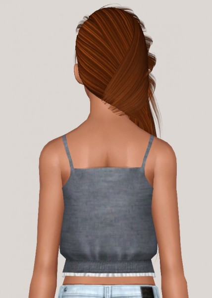 Skysims Hairstyle 253 retextured by Someone take photoshop away from me for Sims 3