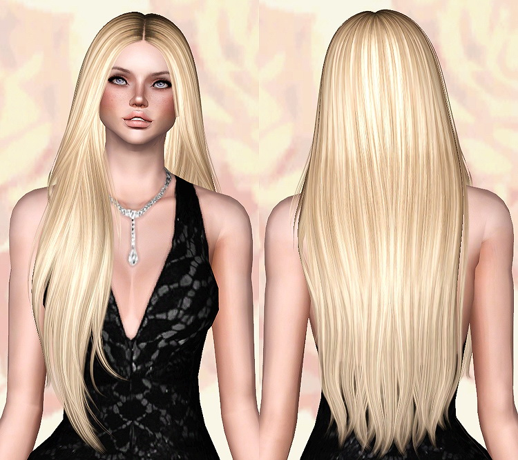 The Sims 3 Download: Nightcrawler`s Let Loose Hairstyle Retextured By Chantel