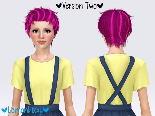 Newsea`s Benjamin hairstyle retextured by Lemonkixxy`s Lair for Sims 3