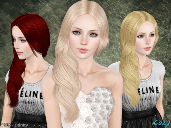 Danity Hairstyle by Cazy by The Sims Resource for Sims 3
