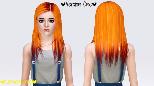Raon F29 hairstyle by Lemonkixxy`s Lair for Sims 3