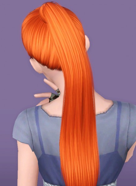 Nightcrawler Silent Lips hairstyle retextured by Forever And Always for Sims 3