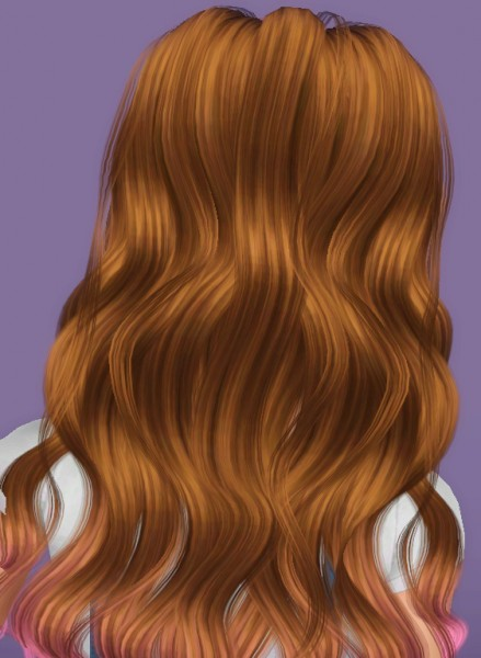 Newsea`s YU179 Isabel hairstyle retextured by Forever And Always for Sims 3