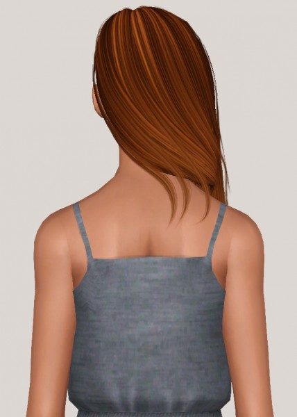 Ade Darma Avril hairstyle retextured by Someone take photoshop away from me for Sims 3