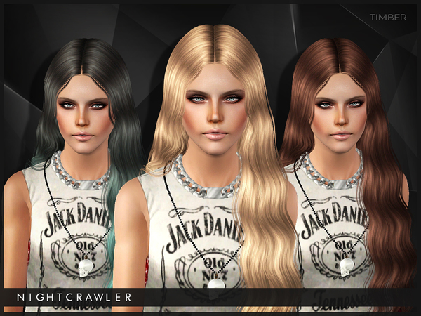Timber hairstyle for TS3 by Nightcrawler by The Sims Resource for Sims 3