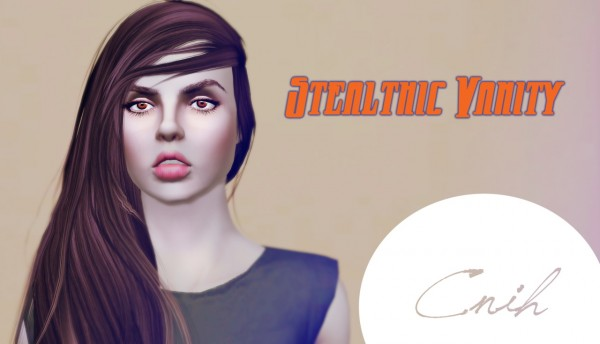 Stealthic Vanity and  Sleepwalking hairstyles converted from TS4 to TS3 by Thecnihs for Sims 3