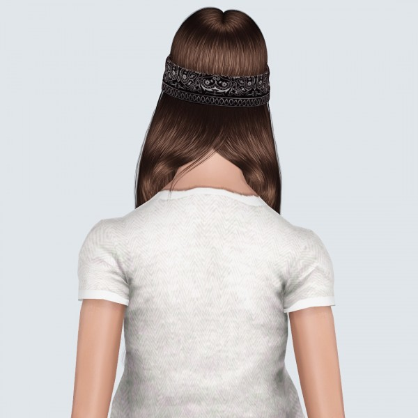 Nightcrawler 24 and Elexis Ada Wong hairstyles retextured by Forever And Always for Sims 3