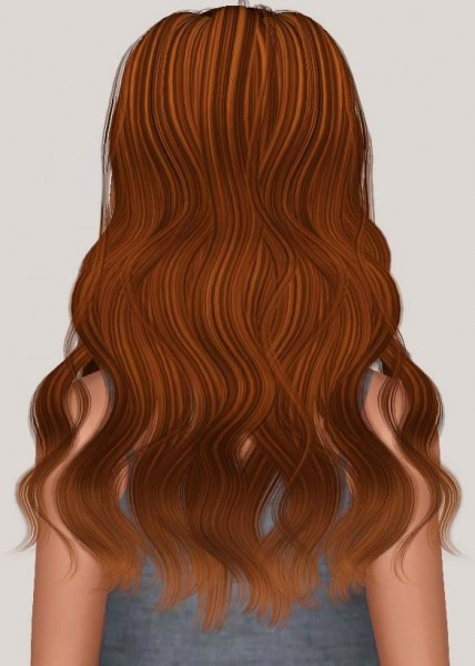 Newsea`s YU179 Isabel hairstyle retextured by Someone take photoshop away from me for Sims 3