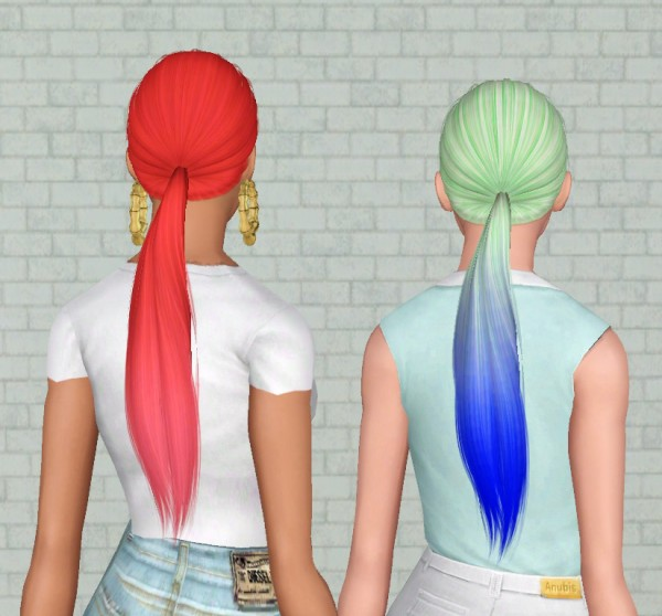 Alesso`s Rocket hairstyle retextured by Electra Heart Sims for Sims 3
