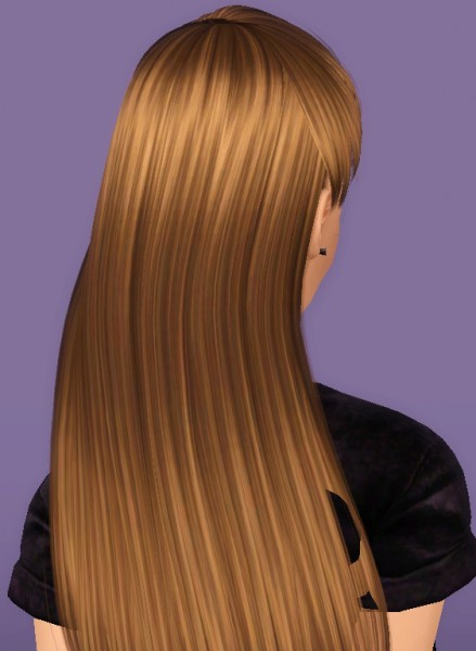 Alesso's Blohm hairstyle retextured by Forever And Always for Sims 3