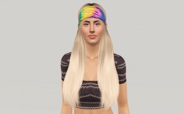 Modish Kitten Woodstock hairstyle retextured by Fanaskher for Sims 3