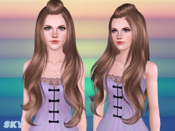 Hairstyle 258 for TS 3 by Skysims by The Sims Resource for Sims 3