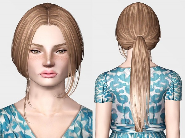 Pixelator's Skysims hairstyle mashup by Chantel Sims for Sims 3