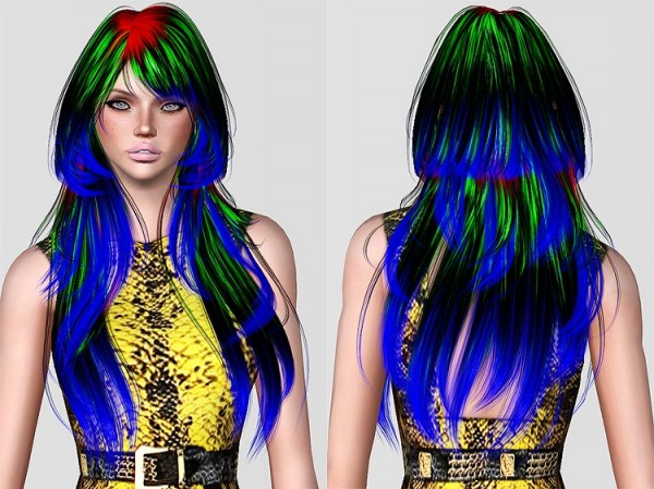 Alesso`s Cookie hairstyle retextured by Chantel Sims for Sims 3