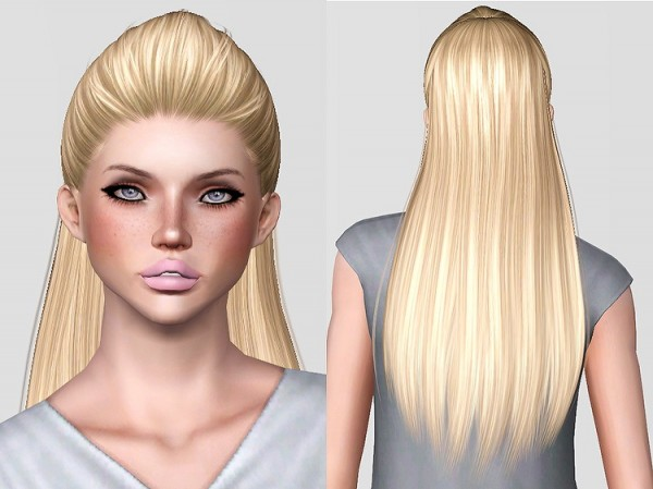 Alesso's Blohm hairstyle retextured by Chantel Sims for Sims 3