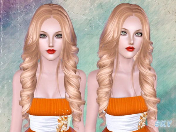Big waves 261 hairstyle by Skysims by The Sims Resource for Sims 3