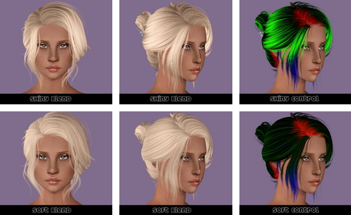Newsea Starlet   Clip and No Clip hairstyle retextured by Plumb Bombs for Sims 3