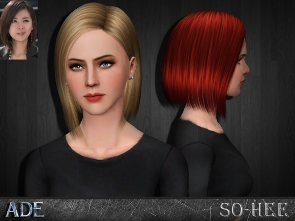 So Hee hairstyle by Ade Darma by The Sims Resource for Sims 3