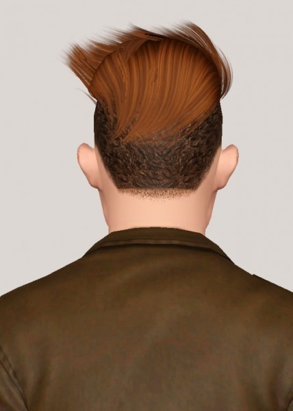 Skysims 256 hairstyle retextured by Someone take photoshop away from me for Sims 3