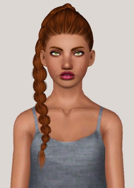 Alesso`s Angel hairstyle retextured by Someone take photoshop away from me for Sims 3