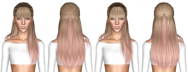 Alesso`s Edge and Studio hairstyle retextured by July Kapo for Sims 3