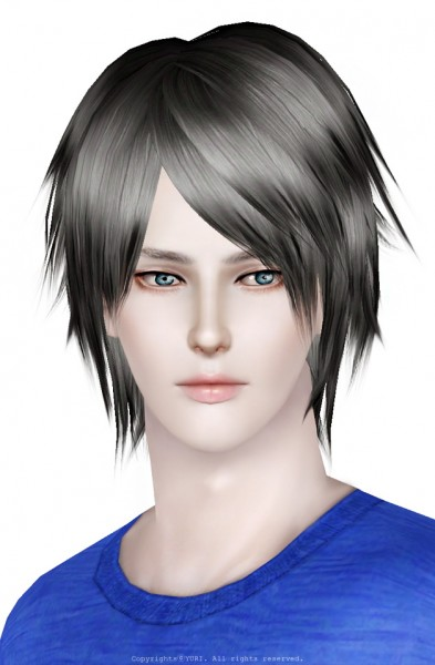 Raonjena Haistyle 20 retextured by RG veda for Sims 3